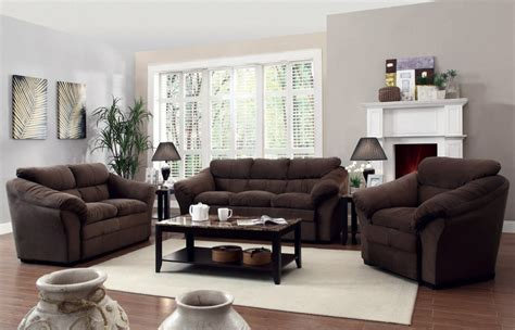 Set Of Living Room Chairs Modern Living Room Furniture Set Marceladick