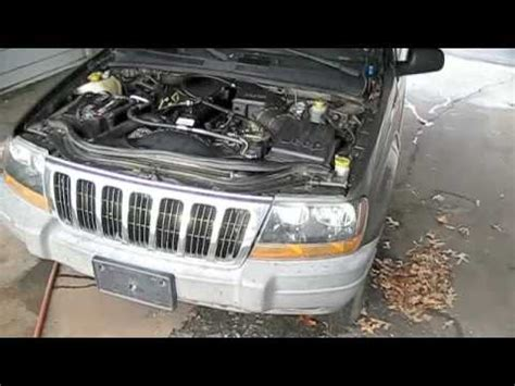 how do cars engines work 2000 jeep grand cherokee interior lighting jeep grand cherokee w blown engine start up exhaust and tour youtube
