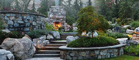 outdoor fireplaces fire pits in mclean great falls va surrounds landscape architecture
