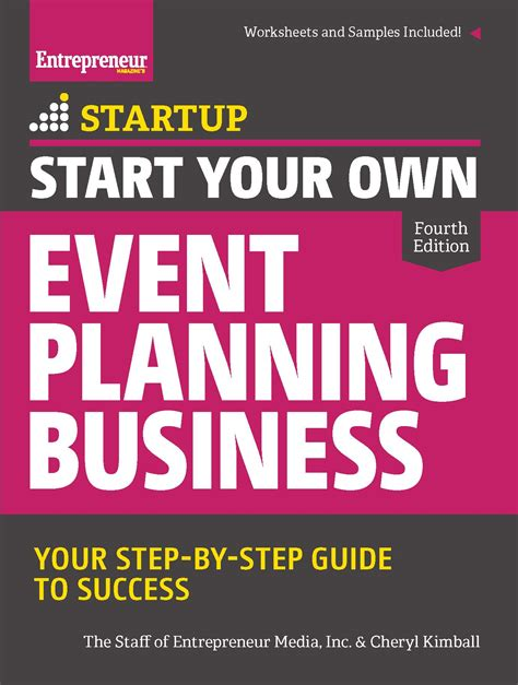 start your own event planning business 4th edition