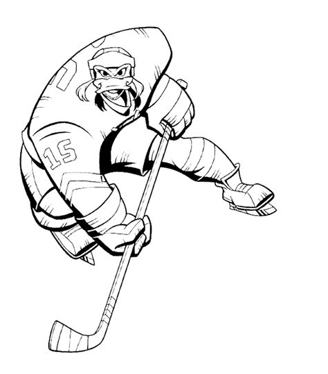 anaheim ducks coloring pages mighty ducks coloring pages coloringpagesabc com
