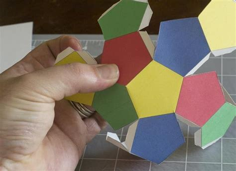How To Make A Polyhedron Out Of Paper - world arts and crafts singapore math