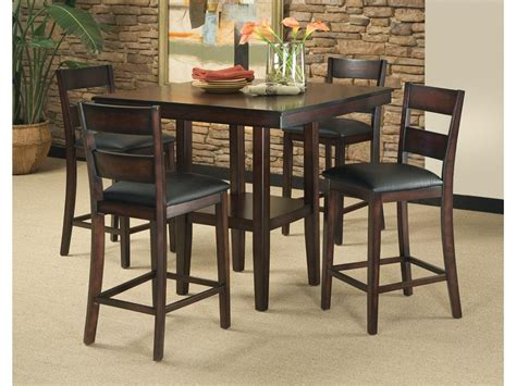 bar height dining room sets standard furniture dining room sets bar counter height