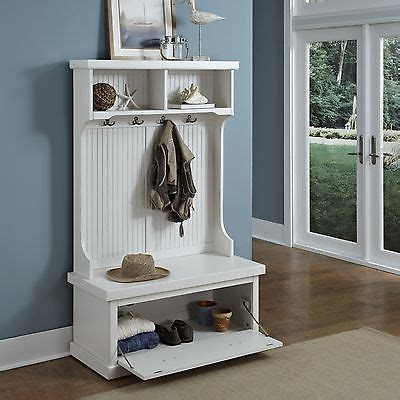 hall tree bench uk white hall tree coastal cottage entryway shoe storage