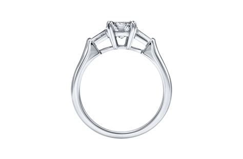 emerald cut engagement ring harry winston