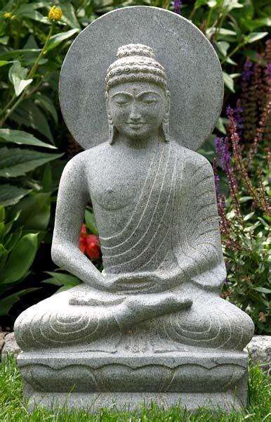 sold buddha statue  halo  lotus   hindu