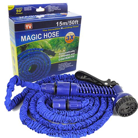 Selang Magic Hose Original magic hose selang air dengan kepala semprotan 15m