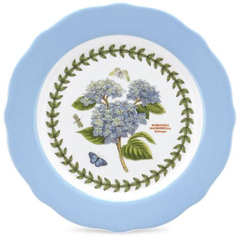 Portmeirion Botanic Garden Dinner Plates Portmeirion Botanic Garden Set Of 4 Dessert Plates Each With Different Flower Portmeirion