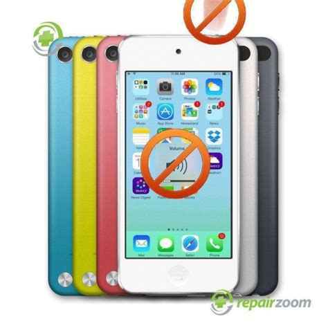 ipod touch 5th generation power or volume buttons repair
