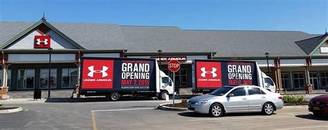 under armour factory house grand opening advertising under armour case study