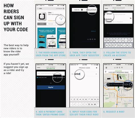 Rideshare Business Cards