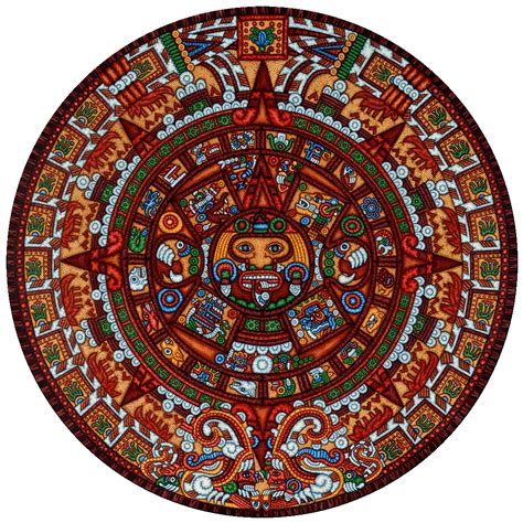 Calendrier Aztec Aztec Calendar Wallpapers Wallpaper Cave