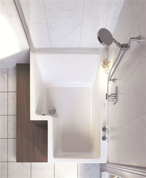 combined shower and bathtub duravit seadream shower and bathtub combo the dream