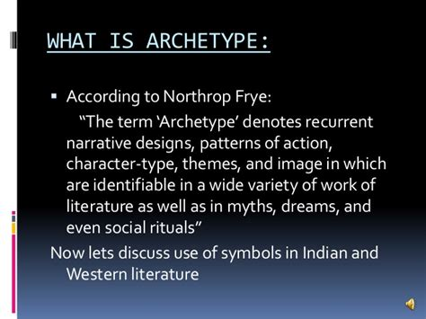 themes in western literature use of archetype in indian and western literature by ami
