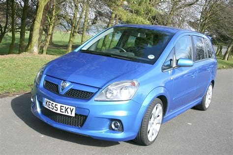 vauxhall zafira vxr review   parkers