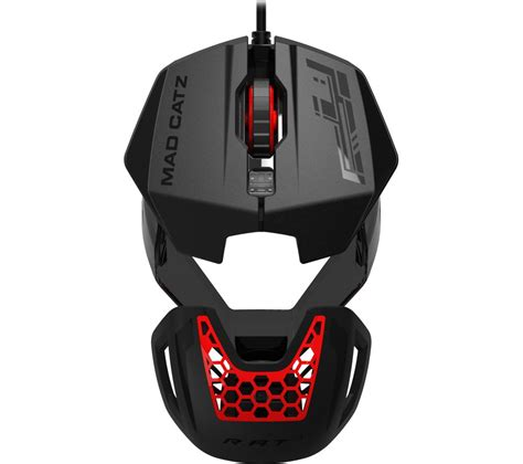 Mouse Gaming Rat buy mad catz rat 1 optical gaming mouse free delivery