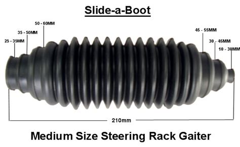 Steering Rack Boot Split by Steering Rack Gaiters
