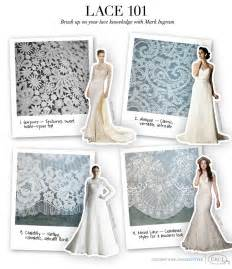 wedding dress fabric types types of lace see also the knot s lace glossary at
