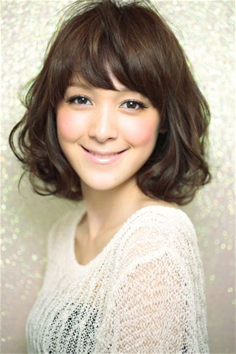 hair style ideas with slight wave in short 17 best images about japanese hairstyles on pinterest