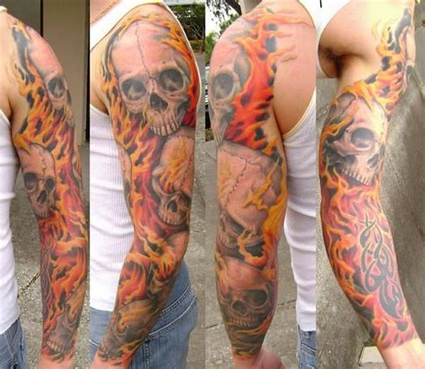 flame sleeve tattoo designs 17 best ideas about tattoos on