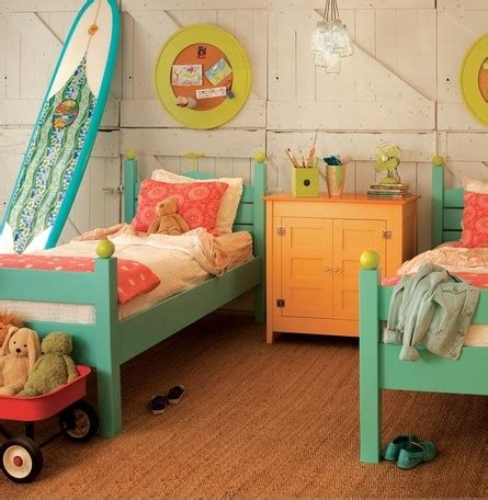 surfer bedroom room for two colorful kids bedrooms interiors for families