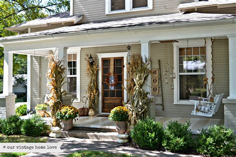 porch ideas our vintage home love fall porch ideas