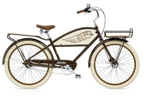 electra beach cruiser bikes electra velo beach cruiser delivery 3i brown men s alltricks