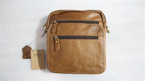Tas Fashion Kulit Impor jual tas selempang kulit levis quot import quot jamin 100 kulit asli 8836 barangbagus shop