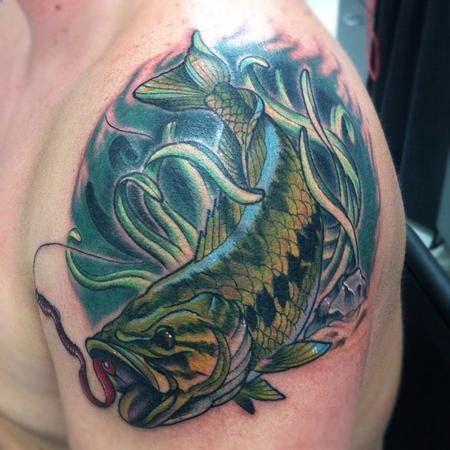 bass tattoo designs bass fishing tattoos