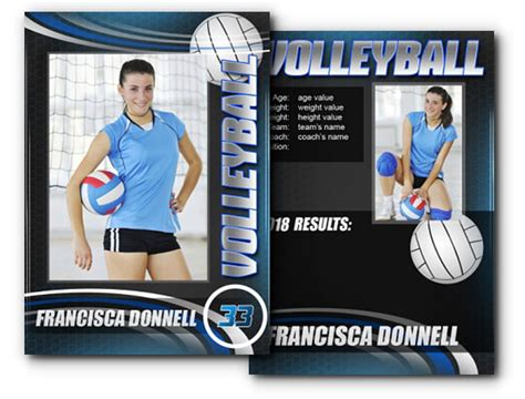 Sports Card Template Photoshop by Sports Card Template Photoshop Templates Collections