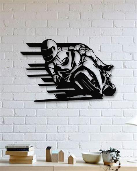 motorsiklet metal plaka motorcycle arte em parede de