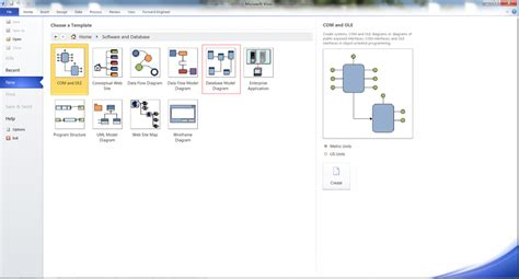visio 2010 engineering templates and forward engineering databases in visio 2010