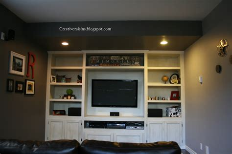 built in wall units creative raisins man room built in tv unit