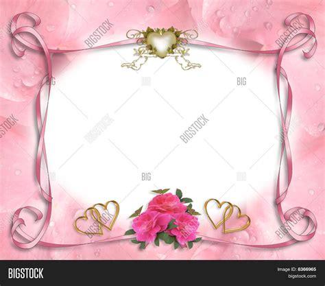 Wedding Invitation Border Images by Wedding Invitation Border Pink Image Photo Bigstock