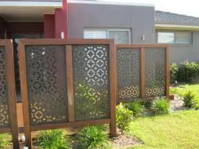 privacy screens for backyards outdoor attractive privacy ideas for decks giving chic