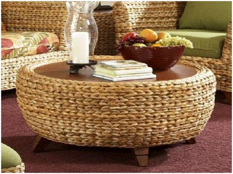 Round Seagrass Coffee Table Seagrass Coffee Table