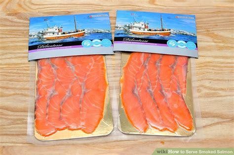 Shelf Of Salmon by 4 Ways To Serve Smoked Salmon Wikihow