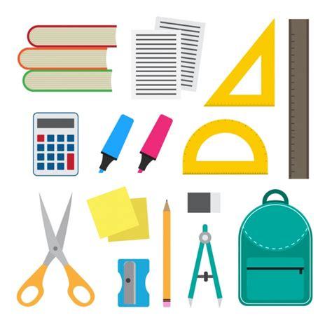 imagenes kit escolar coleta de material escolar baixar vetores gr 225 tis