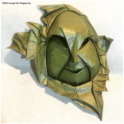 Joseph Wu Origami - 歪 ibitsu crooked quot there was a crooked quot by