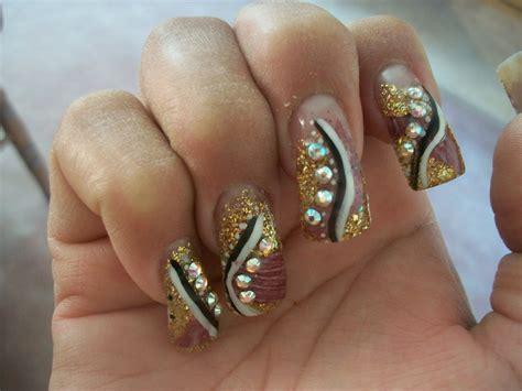 imagenes de uñas decoradas recientes u 241 as acrilicas