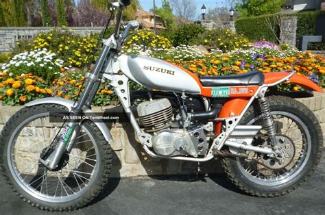 trials and motocross bikes for sale 1974 rl 250 exacta trial bike motorcycles suzuki