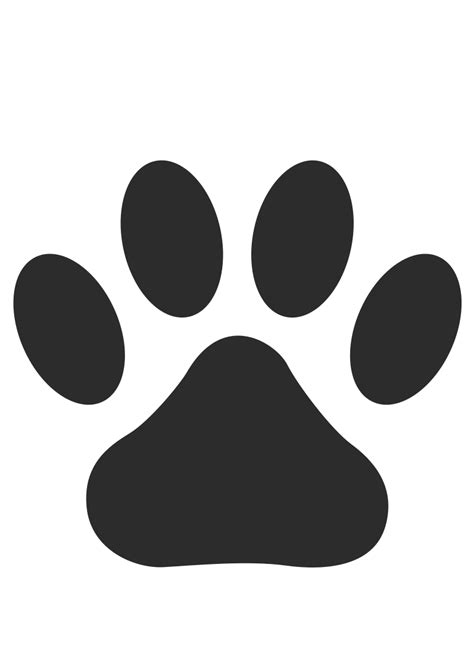 paw print image clipart paw print