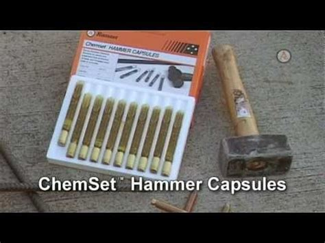 Chemical Ramset ramset chemical anchors