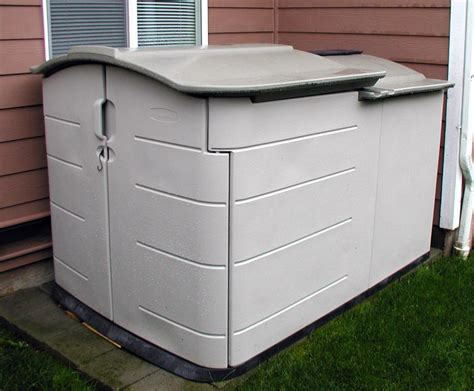 Rubbermaid Slide Top Storage Shed by Rubbermaid Deck Storage Ideas Doherty House Rubbermaid