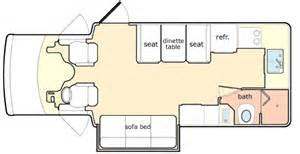Chinook Rv Floor Plans by 2004 Chinook Glacier Class B Rvweb Com