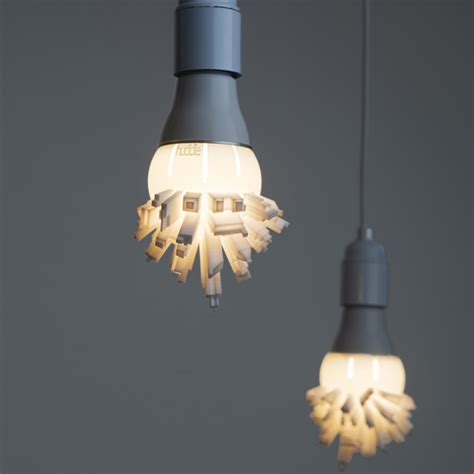 Unique Light Ideas - on our radar lightbulbs sprouting cityscapes global