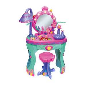 Disney Princess Magical Talking Vanity Disney Princess Ariel Mermaid Magical Talking Salon Vanity S Baby And Kid S