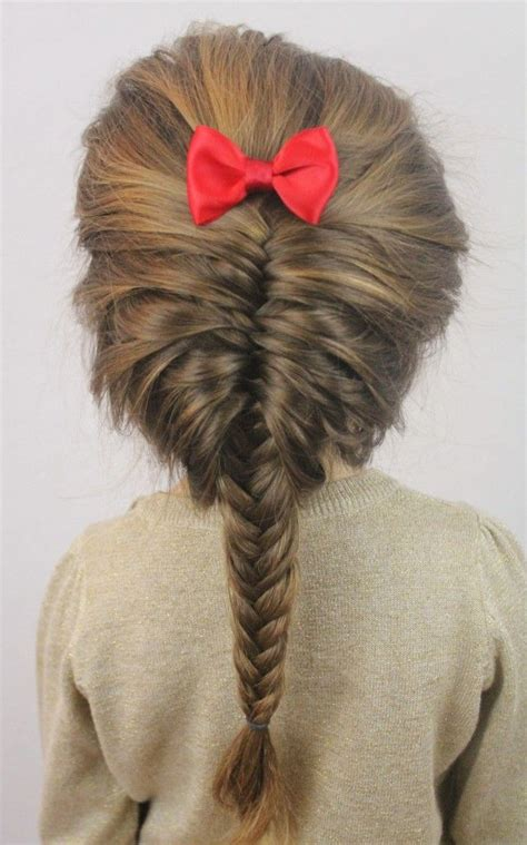 kids fishtail photo with hair added french fishtail braid misti mcleod how cute would this be