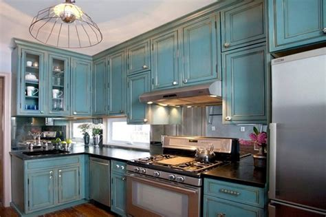 new kitchen lighting farmhouse style the turquoise home 15 perfectly distressed wood kitchen designs home design lover
