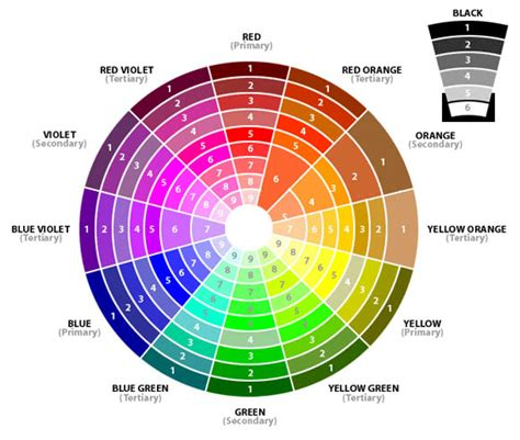 color wheel combinations ideas on wedding colors and combos to set the style of